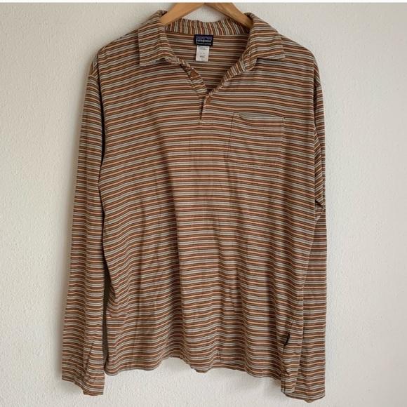 Patagonia Other - Men's Patagonia 100% organic cotton striped shirt
